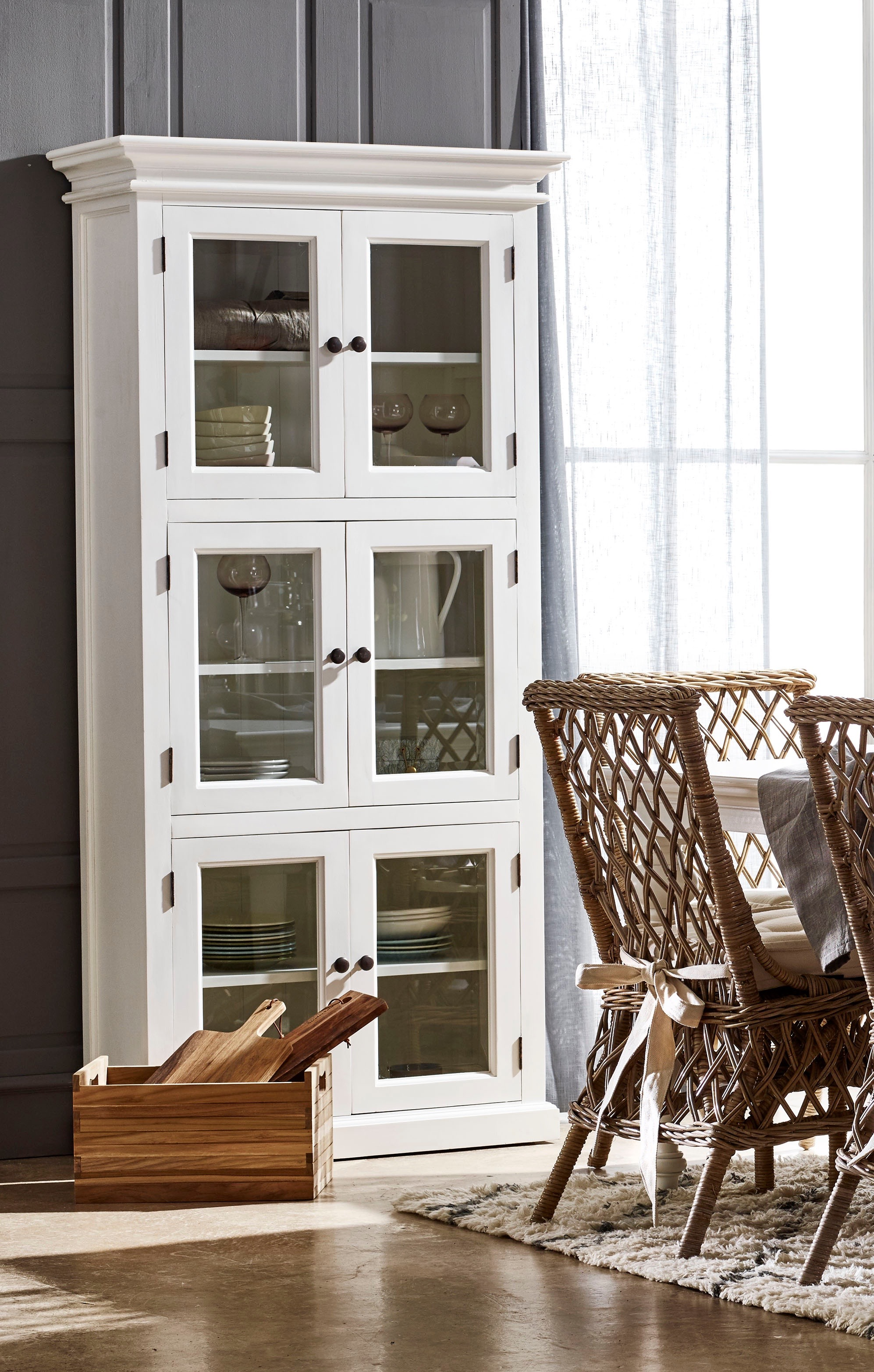 Pantry Glass Doors Home Furniture Manufacturer Wholesale Hotel Villa Furniture