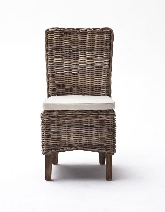 Wicker Dining Chair,Rattan Dining Chair,Rattan Armless Dining Chair