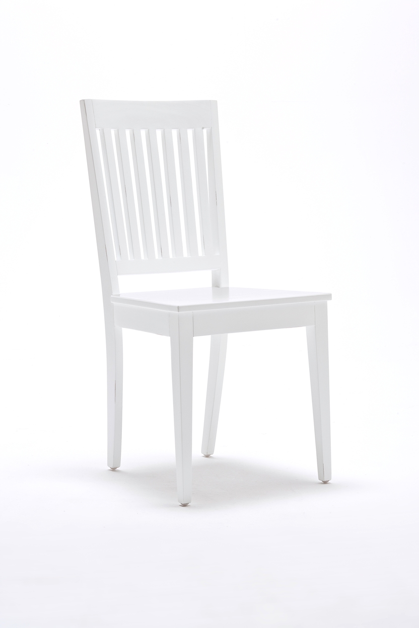 White Wood Dining Chair Home Furniture Manufacturer Wholesale Hotel Furniture