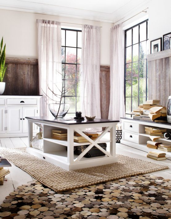 Low Profile Coffee Table,Contrast Coffee Table