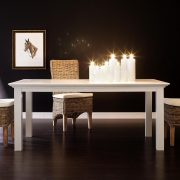 Large Minimalist Dining Table